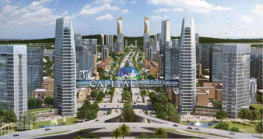 12 marla plot file for sale in capital smart city islamabad.
